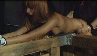 Two blonde slaves gets punissment
