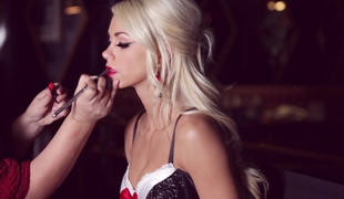 Playboy: Chloe Crawford posing in underware