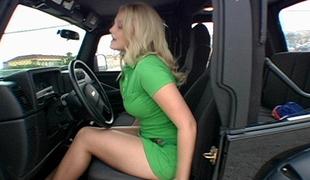 blonde cock tease