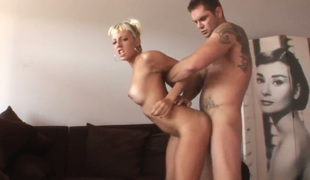 Nacho Vidal has a good maturity making out amazingly hot Angy Pinks mouth