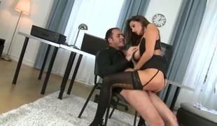brunette cock sensual