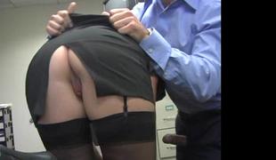 Fair-haired secretary Jamie Lamore acquires screwed hard