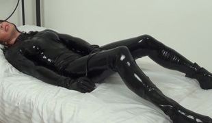 Latex serf loves forth touch itself